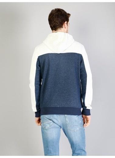 Fermuarlı Kapüşonlu Sweatshirt-Colin's